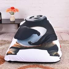 grey bean bag chair online shop levmoon beanbag sofa chair kungfu panda seat zac