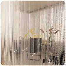 Steel Bead Curtain Beaded Curtain Bathroom Decorate The House With Beautiful Curtains