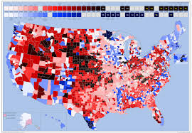 2000 Presidential Election Map by Us Presidential Election Streaks By County 4200x2911 Oc Mapporn