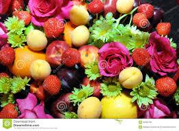 fruit and flowers mix fruits background stock photo image 62802790