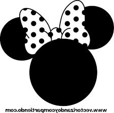 minnie mouse head clipart cliparts