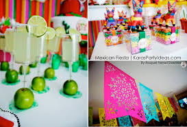 Mexican Party Flags Kara U0027s Party Ideas Mexican Fiesta Themed Family Birthday