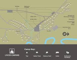 Furry Map Yellowstone Glamping Montana Extraordinary Outdoor Luxury Lodging