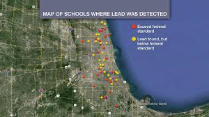 Bad Parts Of Chicago Map Illinois Among Worst States For Contaminated Drinking Water