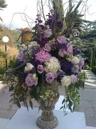 Arrangments by Royal Purple Urn Wedding And Purple