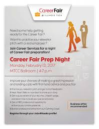 How To Prepare Resume For Job Fair by Spring 2017 Career Fair Prep Night Illinois Institute Of Technology