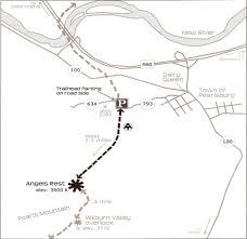 Appalachian Trail Virginia Map by Hiking Trails U2013 Virginia U0027s Mountain Playground