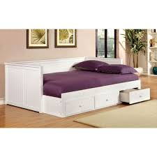 White Wood Daybed With Trundle Bedroom Fabulous Day Beds With Drawers Surprising Hillsdale