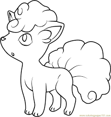 coloring pages pokemon sun and moon cosmog coloring pages alola vulpix pokemon sun and moon coloring
