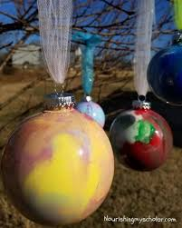swirl paint ornaments nourishing my scholar