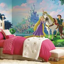 roommates 72 in x 126 in disney princess tangled xl chair rail 7
