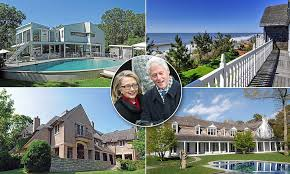 Clinton Houses Hillary House Hunting In Hamptons