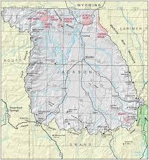 Dolores Colorado Map by Jackson County Colorado Geological Survey
