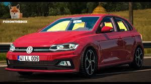 mod car game euro truck simulator 2 volkswagen polo 2018 euro truck simulator 2 ets2 1 28 mod youtube