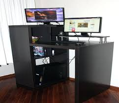 desk stand up computer desk staples innovative stand up computer