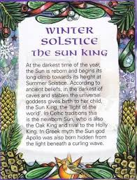 winter solstice birth of the sun king yule winter solstice