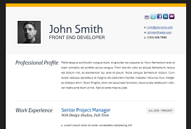 html resume template html resume templates