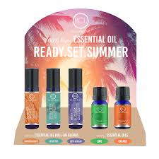 summer essential oils 20 count display bcl spa cosmoprof