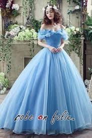 robe de mari e bleue robeenfolie robe de mariée bleue disney cendrillon en satin et