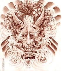 hannya mask samurai tattoo hannya mask by gorgoncult on deviantart