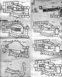 Castle Plans by Stoclet Wiener Secession Pinterest Architecture Plan And