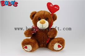 valentines day teddy bears china chocolate stuffed valentines day teddy bears with heart