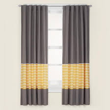 White And Yellow Curtains Curtains Grey Yellow Curtain Panels In Curtains