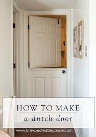 Dutch Barn Door by Where Are Those Projects Today Dutch Door Using A Hollow Core