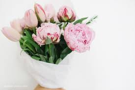 peonies bouquet how to make a peony tulip bouquet diary
