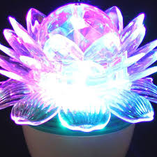 home decor online buy superdeals auto rotating lotus lamp