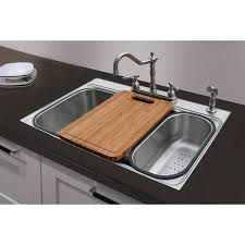 Commercial Kitchen Sinks Shop American Standard 20 Gauge Single Basin Drop In Or Undermount
