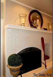 Home Decor Paints Painting Brick Fireplace White Hometalk