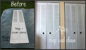 Interior Roll Up Closet Doors by Spray Paint Closet Door Makeover For 21
