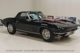 black on black corvette 1967 corvettes cars from proteam