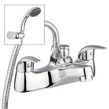 Bathroom Taps With Shower Attachment Interior Bath Mixer Taps With Shower Attachment Wooden Bathroom