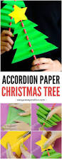 accordion paper christmas tree simple christmas crafts simple