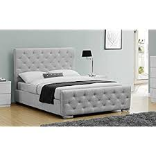 Grey Fabric Ottoman Bed Grey Chesterfield Style Fabric Ottoman Bed Frame 5ft King Size