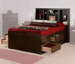 twin platform storage bed prepac furniture bedroom furniture and storage beds bookcase