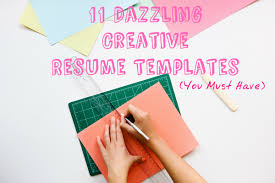 Cute Resume Templates 11 Dazzling Creative Resume Templates
