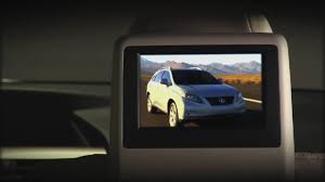 lexus rx 400h executive limited edition 2010 lexus rx 350 rear seat entertainment youtube