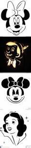 Minnie Mouse Pumpkin Carving Ideas by Disney Pumpkin Faces Stencils Your Own Disney Halloween