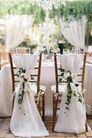 wedding chair decorations wonderful wedding chair decoration ideas 1000 ideas about wedding