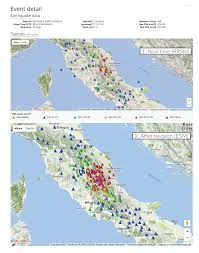 Norcia Italy Map by Esm And Rrsm Two World Class Strong Motion Databases For