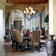 Tuscan Style Dining Room Furniture Captivating Dining Table Wall Together With Tuscan Dining Room