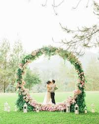 Wedding Arch Greenery Extra Large Grapevine Wreath Decorated With Flowers And Greenery