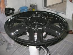 you must have a high gloss black basecoat before spraying any of our hyper silvers or chrome paints