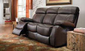 Top Grain Leather Sofa Recliner Dante Reclining Top Grain Leather Sofa The Dump America S
