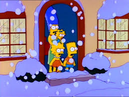 3 episodes of the simpsons students in blizzards should