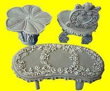 cherished teddies ornamental garden furniture set figurines 202967