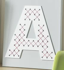 cross stitch letters on canvas diycandy com